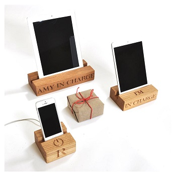 DIY Router Table Plan for Wooden iPad Dock