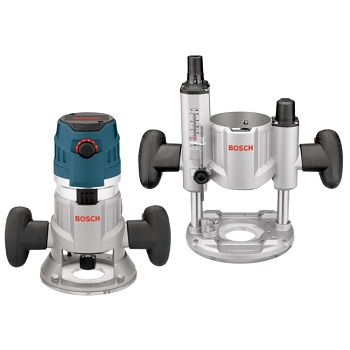 Bosch MRC23EVSK 2.3 HP Combination Plunge & Fixed-Base Router