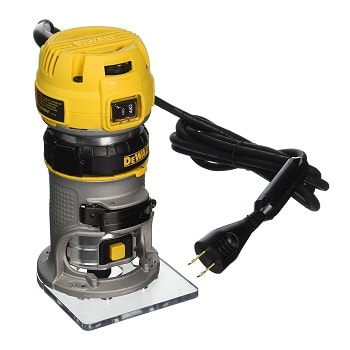 DEWALT DWP611 1.25 HP Max Torque Variable Speed Compact Wood Router