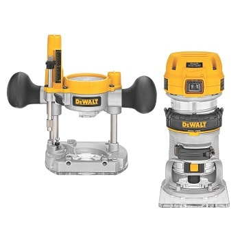 DEWALT DWP611PK 1.25 HP Variable Speed Router