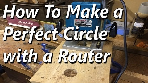 How to Make a Perfect Circle Using a Router