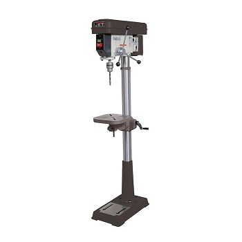JET J-2500 15-Inch 34-Horsepower 115-Volt Floor Model Drill Press